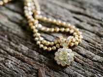 Diamond Pendant, Selectieve nadruk Royalty-vrije Stock Foto's