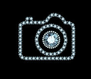 Diamond Photo Camera illustration libre de droits