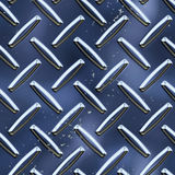 Diamond plate. 3d diamond plate metal seamless surface background texture Stock Images