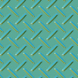 Diamond plate. 3d diamond plate metal seamless surface background texture Stock Photography