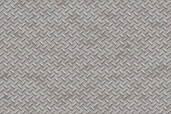 Diamond Plate. High resolution seamless texture Royalty Free Stock Photography