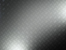 Diamond plate. 3d image of metal grunge plate Stock Images