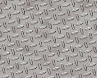 Diamond Plate. A silver Diamond Plate Texture Royalty Free Stock Photos