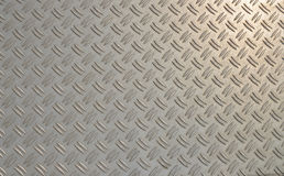 Diamond plate. Stock Photo