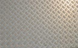 Diamond plate. Stock Photo