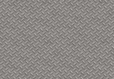 Diamond Plate. Large sheet of Diamond Plate Texture Royalty Free Stock Images