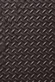 Diamond Plate Abstract Texture Background noir de métaux lourds Image stock