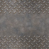 Diamond plate background Royalty Free Stock Photography