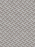 Diamond plate background Stock Photography