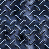 Diamond plate background Stock Images