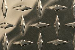 Diamond plate background Royalty Free Stock Images