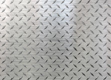Diamond Plate Background 45 degree Stock Photography