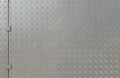 Diamond plate. Royalty Free Stock Images