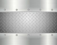 Diamond plate background Stock Image
