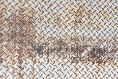 Diamond plate background Stock Image