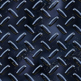 Diamond plate black Royalty Free Stock Image