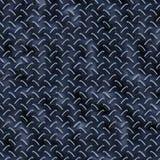 Diamond Plate Blue Reflective. Little Pieces / Hight Quality Texture Vector Illustration
