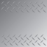 Diamond Plate Border Royalty Free Stock Photography