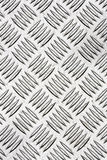 Diamond plate or checker plate close up Stock Images