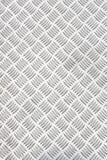 Diamond plate or checker plate sheet Stock Photos