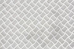 Diamond plate or checker plate sheet Stock Photo