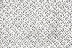 Diamond plate or checker plate sheet. Diamond plate, also known as checker plate, tread plate, cross hatch kick plate and Durbar floor plate stock photo