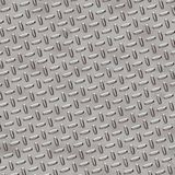 Diamond Plate - Chrome Grey royalty free stock images