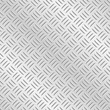 Diamond Plate Metal Background Stock Photo