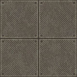 Diamond plate pavement texture Royalty Free Stock Photo