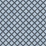 Diamond Plate seamless Texture. Dirty diamond plate seamless texture Royalty Free Stock Photos