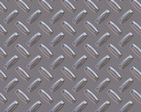 Diamond plate silver bars Stock Photography