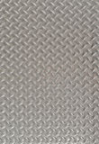 Diamond Plate Steel. Sheet used for background Stock Photo