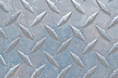 Diamond Plate Steel. Metal, suitable for textures and overlays Stock Photography