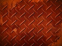 Diamond Plate Steel Stock Image