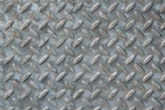 Diamond Plate Steel Royalty Free Stock Image