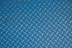 Diamond Plate Steel Fotografering för Bildbyråer