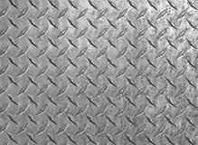 Diamond plate steel background Royalty Free Stock Photography