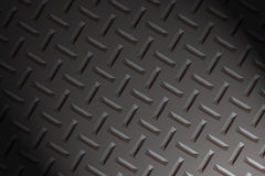 Diamond plate texture. Dramatic lightening Stock Image