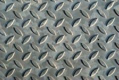 Diamond plate texture Stock Photo