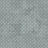 Diamond plate texture seamless pattern vector illustration