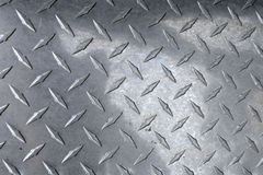 Diamond Plated metal Stock Images