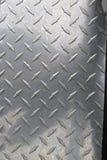 Diamond Plated-Metall Lizenzfreie Stockbilder
