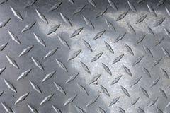 Diamond Plated-Metall Stockbilder