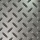 Diamond Plated Seamless metal sheet. Vector Stock Images