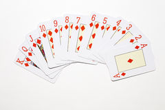 Diamond poker Stock Photos