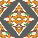 Diamond poker as card pattern stock illustration