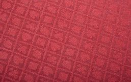 Diamond poker cloth. A poker table covered in a diamond patterned cloth Stock Photo