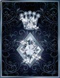 Diamond Poker diamonds royal card Royalty Free Stock Photos