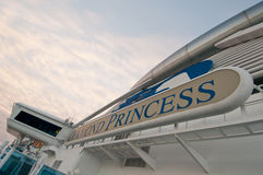 Diamond Princess cruise Stock Photography