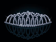 Diamond princess diadem Stock Image